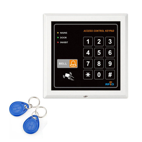 101 single relay digital access control keypad with proxy rfid tags em card read ebay. Black Bedroom Furniture Sets. Home Design Ideas